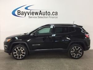 2017 Jeep Compass Limited - 4x4! REM START! PANOROOF! HTD LTH...