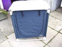 towsure awning unit with worktop and 2 shelves