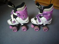 Jumior roller skates, UK size 10-13