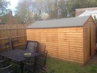 Wooden shed 12 x6