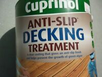 Cuprinol - Anti Slip Decking Treatment - 'Keep safe this winter'