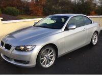 2010 BMW 320 d convertible SE-silver metallic