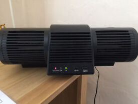 Heaven Fresh Ionic Air Purifier 60M ions / Ioniser HF 210UV w/Fan & UV Lamp / Negative Ions