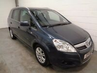 VAUXHALL ZAFIRA DIESEL , 7 SEATER , 2011 , ONLY 50000 MILES + HISTORY , LONG MOT, FINANCE, WARRANTY