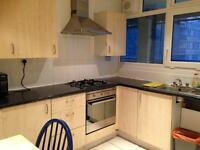 Two double rooms to let next to mile end station from 1st May for £125
