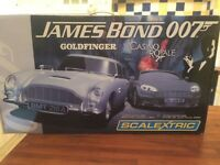Scalextric Race Set - James Bond 007 (Goldfinger and Casino Royale)