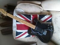 "Fender ""modern player"" thinline telecaster.."