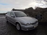 Jaguar X Type V6 SE In Silver, 2003 53 reg, Last Owner From 2013, Service History Receipts