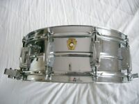 """Ludwig 410 Alloy Supersensitive snare drum 14 x 5 1/2"""" _ Chicago - '61-'68 - P-71"""