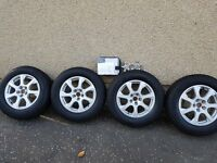 Audi alloys and winter tyres