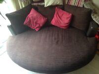 DFS large cuddler sofa. Excellent condition.