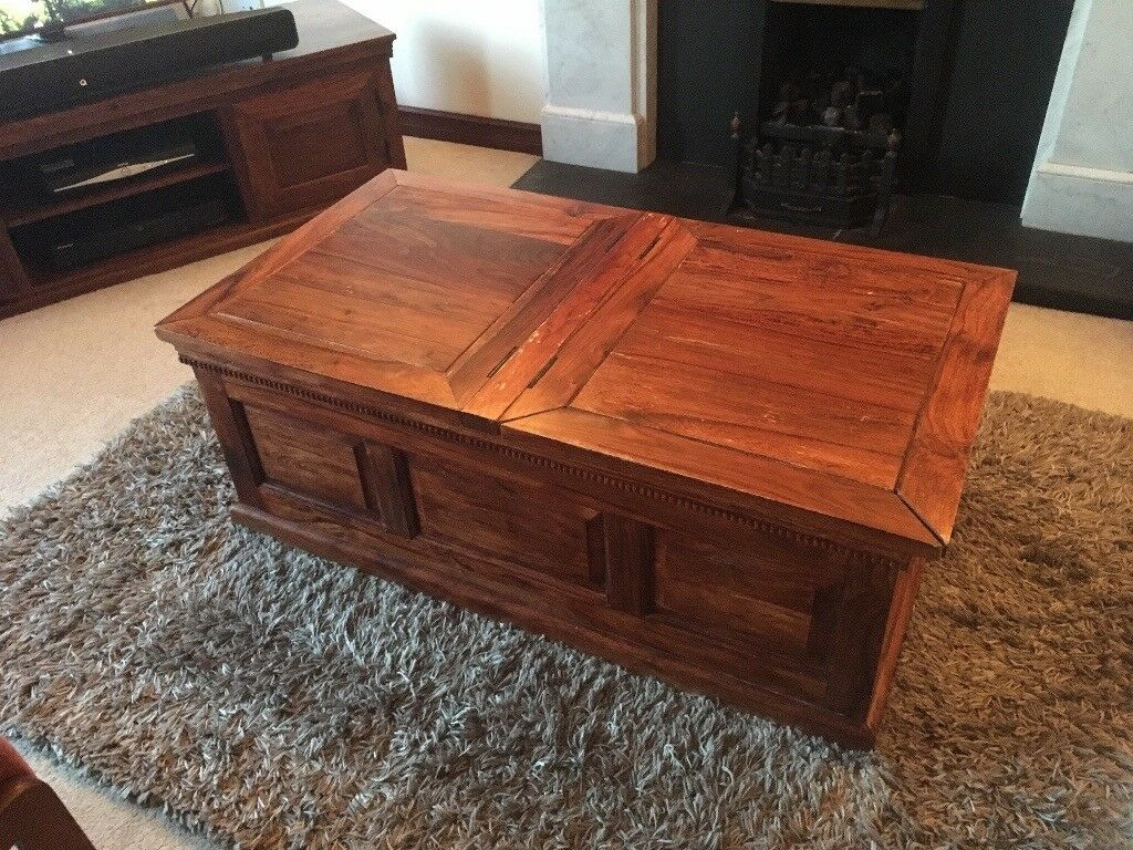 Marks And Spencer Surat Chest Coffee Table
