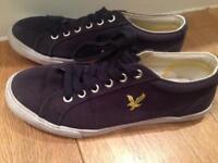 Lyle Scott blue shoes