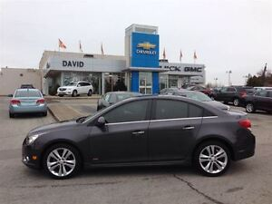 2011 Chevrolet Cruze LTZ Turbo w/SUNROOF AND LOCALLY TRADED
