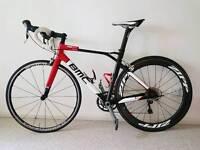 Full carbon BMC SL-01 road racing bike ZIPP 404 wheel ROTOR RINGS