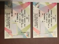Two C2C Country to Country Tickets for sale