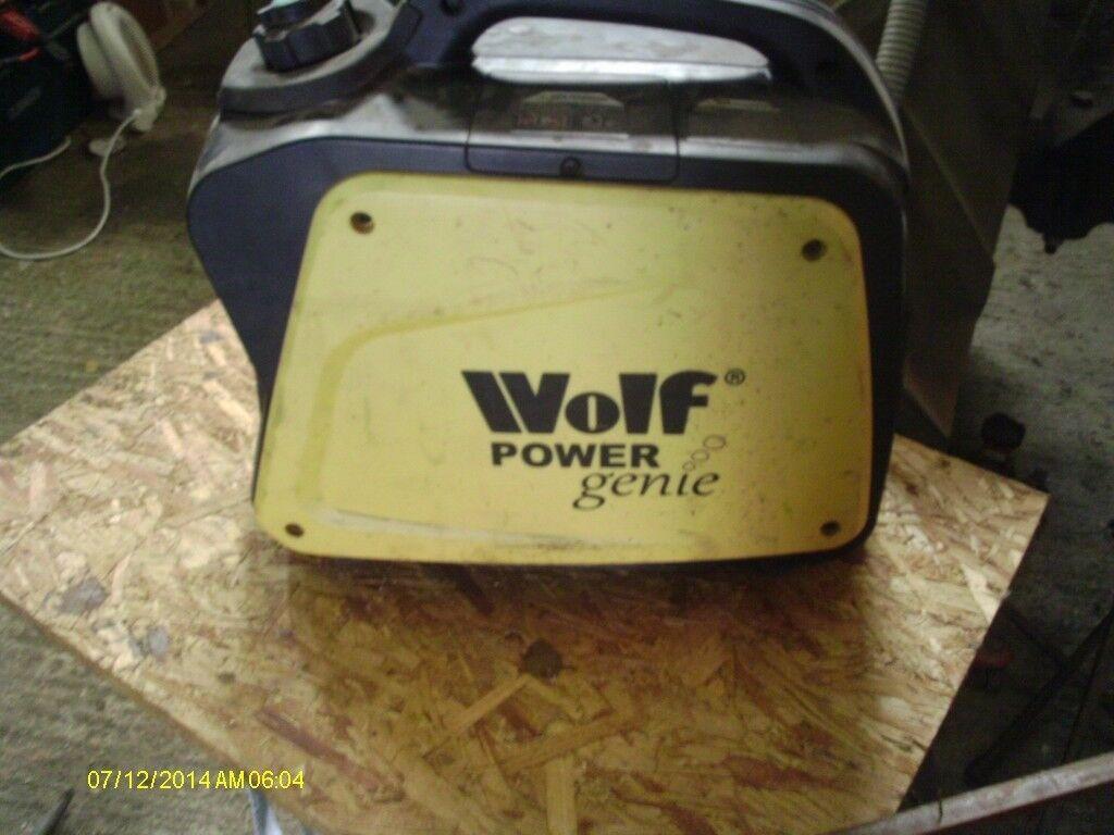 for sale wolf power genie inverter 1200 suit