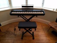 Kawai ES7 Digital Piano, Stand, Stool, Damper Pedal and Books Included