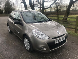 2009 Renault Clio 1.2 16v Extreme 3dr Beige Petrol Manual Good Condition