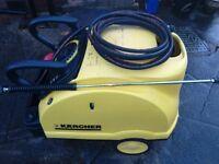 Karcher 601 Eco Industrial Car Wash Hot Pressure Washer Steam Cleaner Fully Serviced Can Deliver