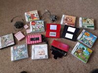 Nintendo ds lite x 2, plus games and cases