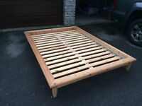 IKEA double bed, good condition, possible delivery
