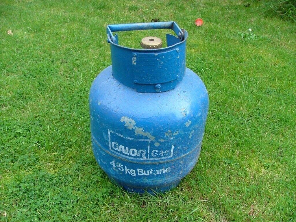 calor gas 4.5kg Butane bottle - empty