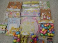 selection of Easter arts and crafts