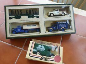 toy cars unused in original boxes