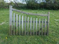 sturdy garden gate