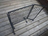 Blacksmith made to order Fire screen.