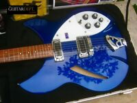 ♚EXCEPTIONAL♚ 2005 RICKENBACKER 330-12 String ♚ MIDNIGHT BLUE ♚Big Head!♚360*620