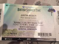 Justin Bieber Hyde Park