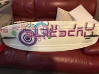 Wakeboard 134 bindings size 6