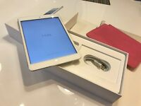 iPad mini 16gb white & silver - immaculate A1 boxed + cover