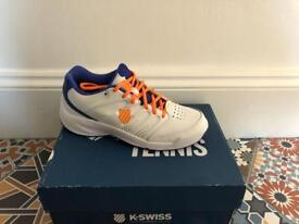 K Swiss Trainers - ideal for Tennis. Brand New size 5