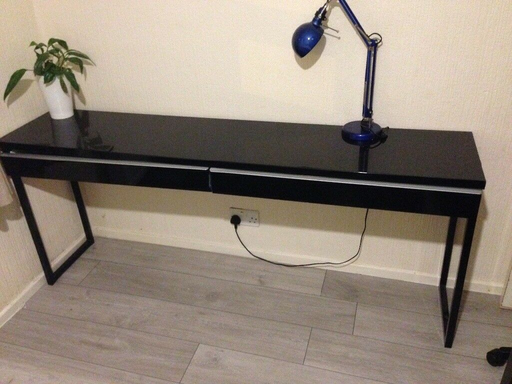 black sale ikea april long desk moving