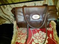 Mulberry brown bag