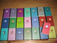 Agatha Christie: 22 hardback books from the agatha christie collection in great condition