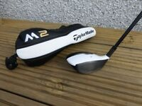 Taylor Made M2 3 wood, 15 degrees, Stiff Flex Shaft and headcover