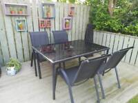 Homebase outdoor table and chairs