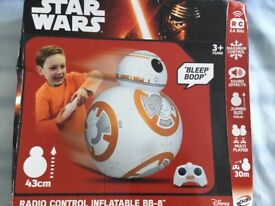Star Wars bb8 radio controlled