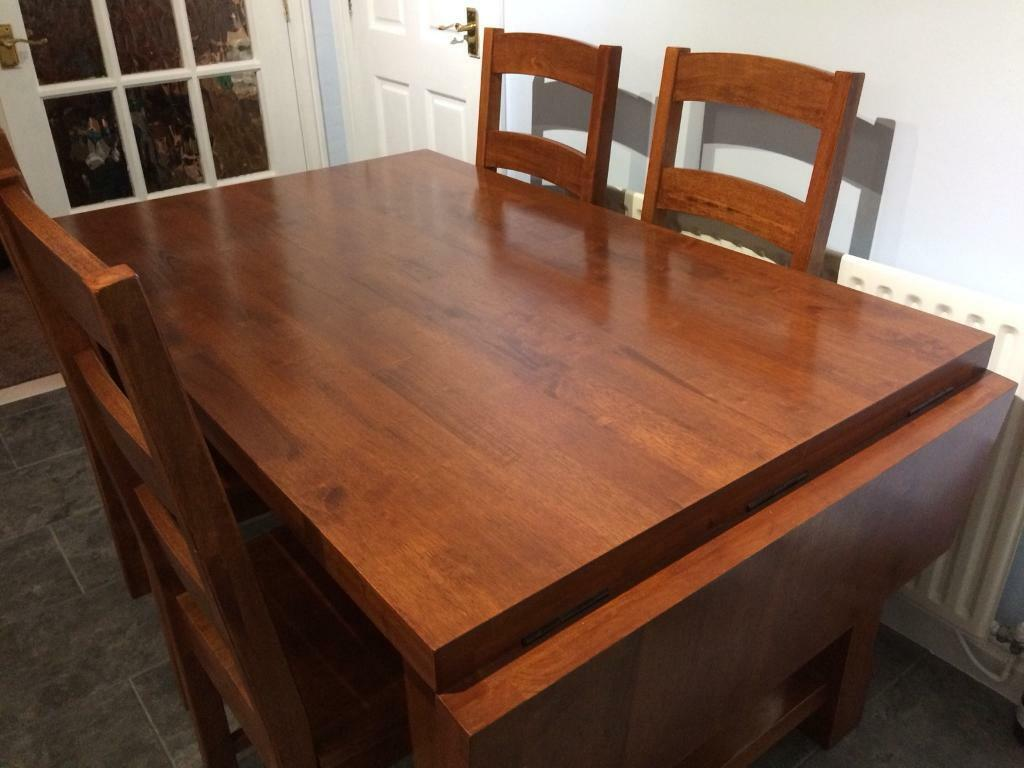 Solid Hard Wood Table
