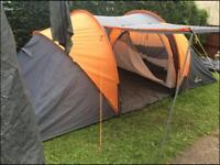4man 2rooms tunnel tent