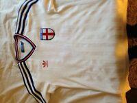 England retro adidas shirt