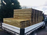 40x Feather Edge Fence Panels 2ft - 6ft Available