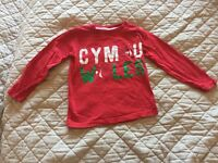 Kids Wales Top Size 4 Years