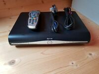 500Mb Sky+ HD Box complete with power cable, remote and HDMI cable
