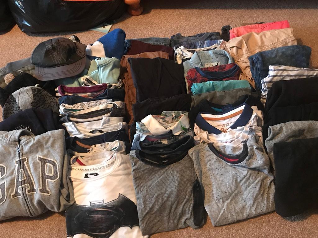 Massive boys clothes bundle. Ages 7-8/8-9