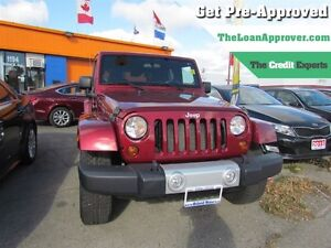 2011 Jeep WRANGLER UNLIMITED Sahara | 4X4 | 2TOPS | TOW PACKAGE